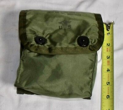 NEW OD Medic Pouch First Aid Military Surplus Army USMC USGI with 2 ALICE clips