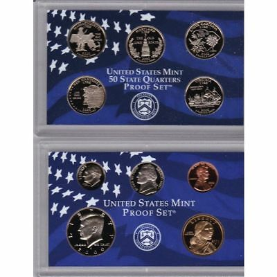 Gorgeous 2000 S US Mint Proof 10 Coin Birth Year Set; Christmas, Birthday, etc.