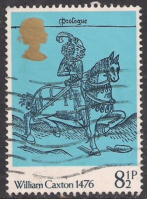 GB 1976 QE2 8 1/2p 500th Anniv. British Painting SG 1014 used stamp  ( G323 )