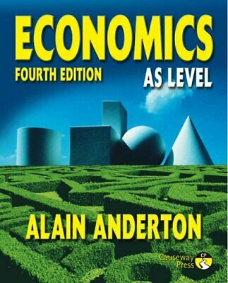 Economics AS Level 4th Edition by Anderton, Mr Alain Paperback Book The Cheap