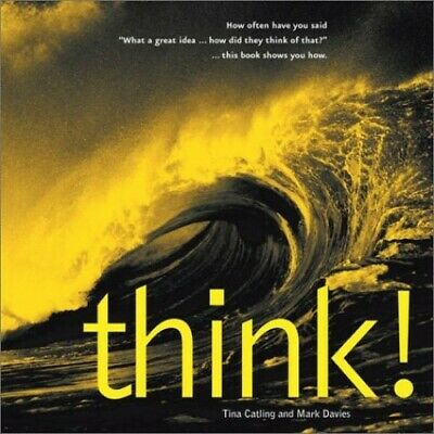 Think! by Davies, Mark Hardback Book The Cheap Fast Free Post