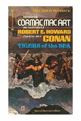 Tigers of the Sea by Robert Howard Book The Cheap Fast Free Post
