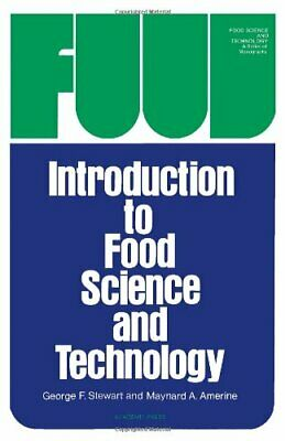 Introduction to Food Science and Technology ... by Amerine, Maynard And Hardback