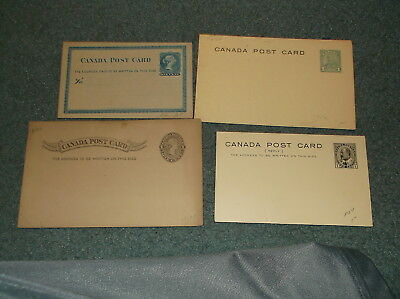 Canada Early Unused Postal Card Collection