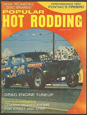 MARCH 1960 HOT Rod Magazine, Plymouth Road Test, Rodding The
