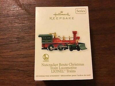 Hallmark 2012 LIONEL NUTCRACKER Route Christmas Locomotive Train Engine Ornament