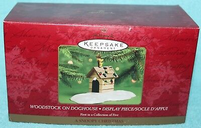 Woodstock On Doghouse Display Piece also come with Lucy Hallmark Keepsake