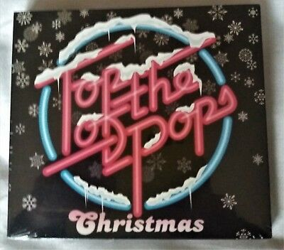 Top Of The Pops Christmas  Double Cd 2016 Va New Sealed