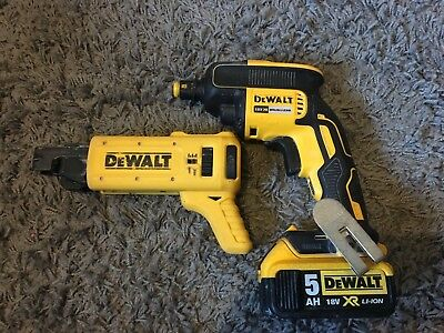 Dewalt Dcf620 And Dewalt Dcf6201 Screw Gun 18V Xr Li-On