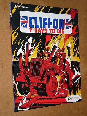 Clifton 7 Days To Die by de Groot & Turk (Cinebook Graphic Novel)