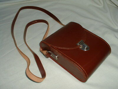 A nice Leather case for a pair of Carl Zeiss 8 x 30 Jenoptem Binoculars