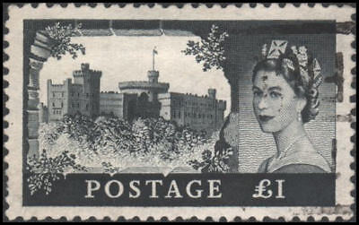 Great Britain #374 Used