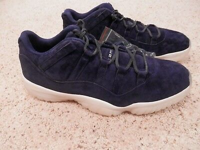 "Air Jordan Retro 11 Low Authentic Derek Jeter Shoes ""RE2PECT"", New  Mens Size 11"