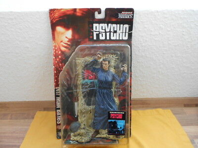 Psycho~Norman Bates~ Figur 1999 Vintage 90s McFarlane Toys Movie Maniacs ~ OVP