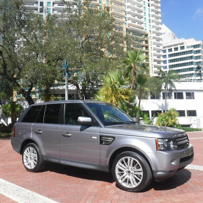 2012 Land Rover Range Rover Sport 4WD 4dr HSE LUX Florida Stunning 2012 Land Rover Range Rover Sport HSE Luxury Edition 4X4 SUV