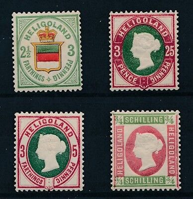 [30000] Heligoland Good lot old stamps Very Fine MH
