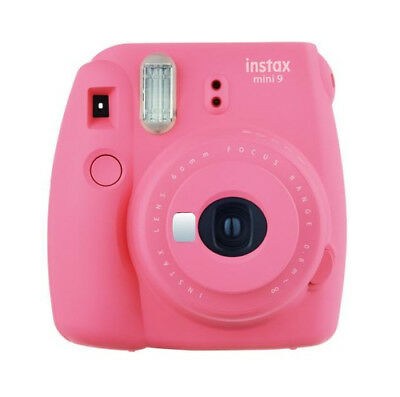 Fujifilm Instax Mini 9 - Flamingo Pink Instant Film Camera
