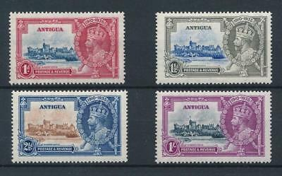 [30220] Antigua 1935 Good set Very Fine MH stamps/1sh Very Fine MNH