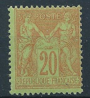 [39832] France 1884 Good stamp Very Fine MH Value $80