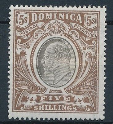 [39843] Dominica 1903 Good stamp Watermark CC Very Fine MH Value $190