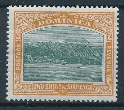 [39844] Dominica 1903 Good stamp Watermark CC Very Fine MH