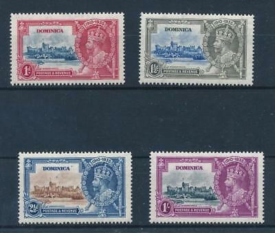 [39848] Dominica 1935 Good set Very Fine MH stamps