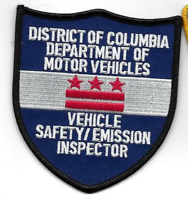 District of Columbia Department of Motor Vehicles patch