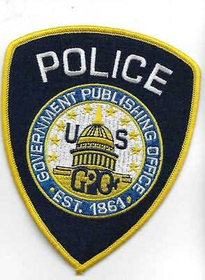 Government Publishing Office Police patch