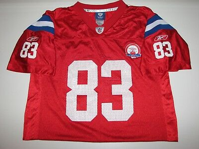 6021c665e RICHARD SEYMOUR NEW England Patriots Jersey Youth Size XL 18-20 ...