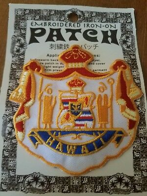 """Hawaii State Patch brand new 3""""x3"""" ☆☆FREE SHIPPING☆☆"""