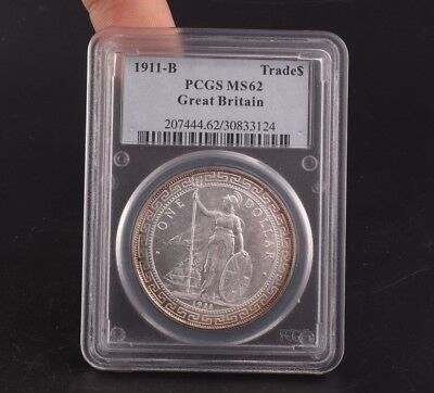 Silver Plated Copper Foreign Soldier Statue Commemorative Coin Pcgs Ms62