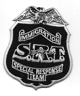 Immigration Special Response Team cap  patch