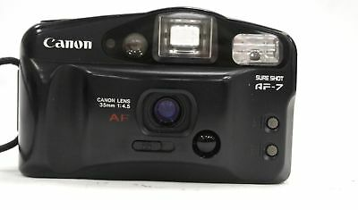 CANON SURE SHOT AF-7 35mm Compact Camera - A14