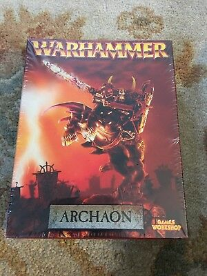 Warhammer Warriors Chaos Mounted Archaon Lord of the End Times Metal New Sealed!