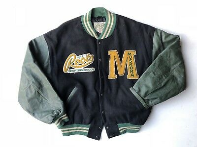 Roots MADE IN CANADA Vintage Varsity Jacket