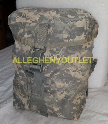 US Military MOLLE ACU Camo Sustainment Pouch for Army Rucksack Pack Main Bag VGC