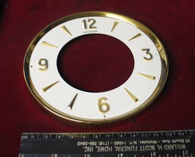 Vintage Jaeger Le Coultre Atmos Clock Dial & Backplate