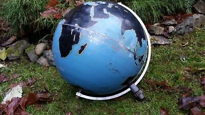 Large Denoyer Geppert Military Globe as is
