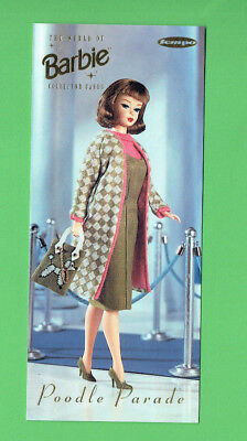 #D358.   Tempo Series 2 The World Of Barbie Box Card