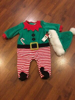 Holiday Edition Cute Elf Christmas Outfit Brand New Size 0-3 Months