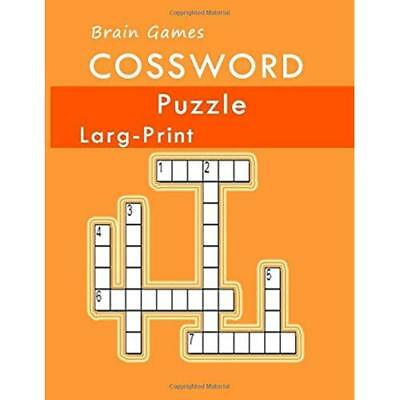 Brain Games Crossword  Puzzles Large Print: Crossword puzzle the ultimate book f