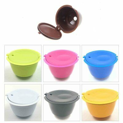 plastic PP Reusable Coffee Capsules Cup Filter For Refillable Brewers Nescafe AU