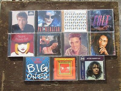 11 CD Lot - Classic Rock - Best, Greatest  [Used]