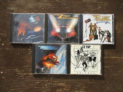 5 CD Lot -  ZZ Top   [Used]