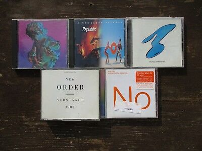 5 CD Lot -  New Order   [Used]