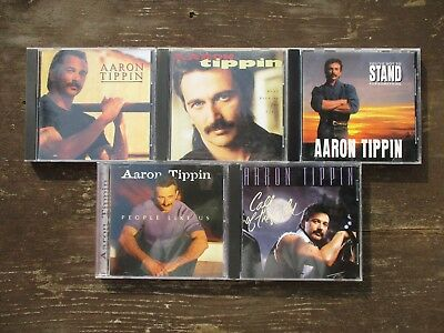5 CD Lot -  Aaron Tippin   [Used]