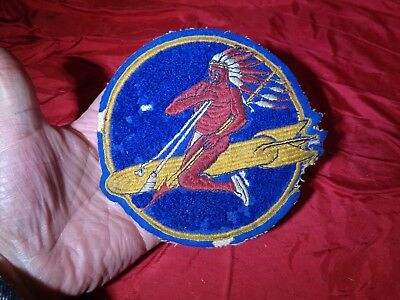 Vintage Wwii Ww2 Military Patch Us Army Air Force Patch #1