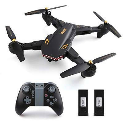 Virhuck VISUO XS809S RC Drone with WiFi FPV 720P Camera Live Video 120° Wide +