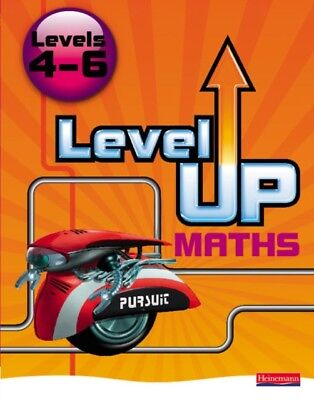 Level Up Maths:Levels 4-6 Pupil Bk (Paperback), 9780435537319