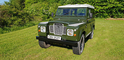 1982 Land Rover Series 3 88 SWB Moted and Very Solid and Clean One 2.25L Diesel